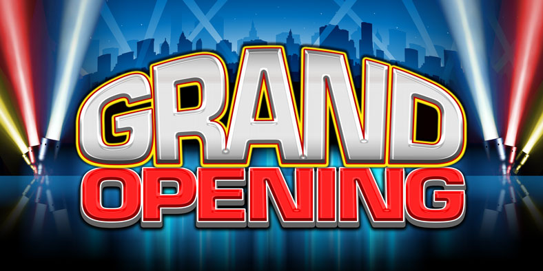 "New Manhattan Location ""Grand Opening"""
